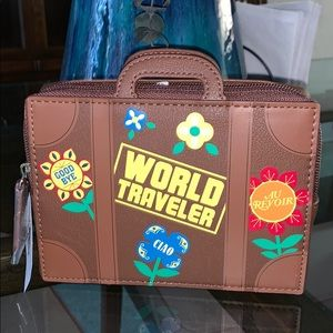 It's a Small World Travel Luggage Clutch